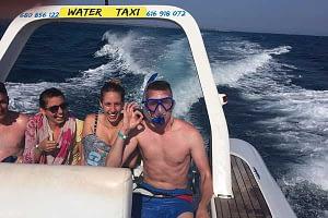 water-taxi famílias a Isla de Lobos
