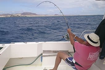 pesca deportiva en Corralejo