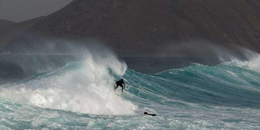 isla de lobos surf